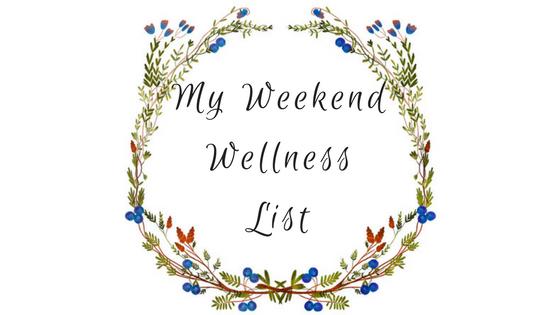 my weekend wellness list - must love crows